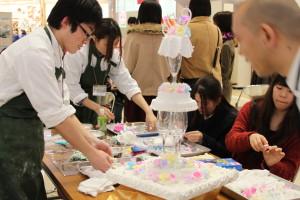 長崎短期大学のシュガーデコ
