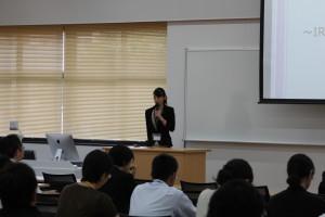 講師 熊田先生の報告