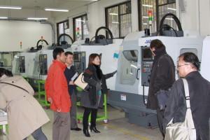 5機械加工教育センターの見学