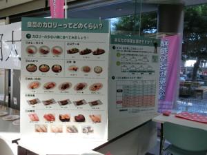 19-カロリー表の展示